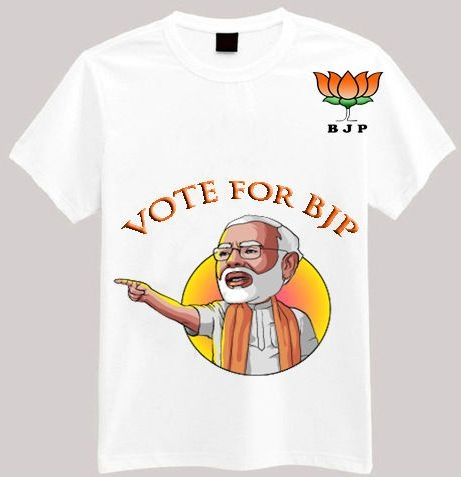 election promotional t shirt by Taste of fabric