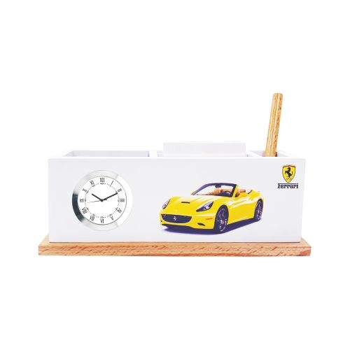 Ferrari custom desktop clock