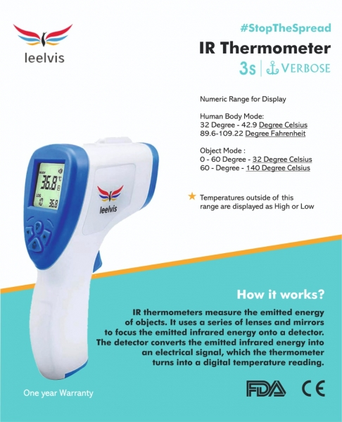IR Thermometer by Taste of Fabric