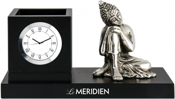 Le Meridian custom desktop clock