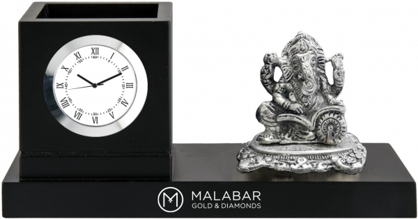 Malabar gold custom desktop clock