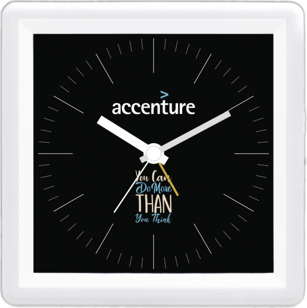 accenture custom table clock