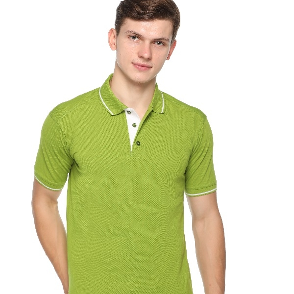 Taste of Fabric tipline polo t-shirtP