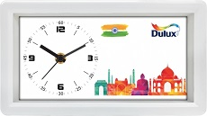 Dulux custom desktop clock