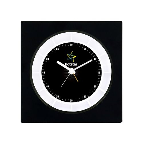 Hotstar custom taste of fabric clock