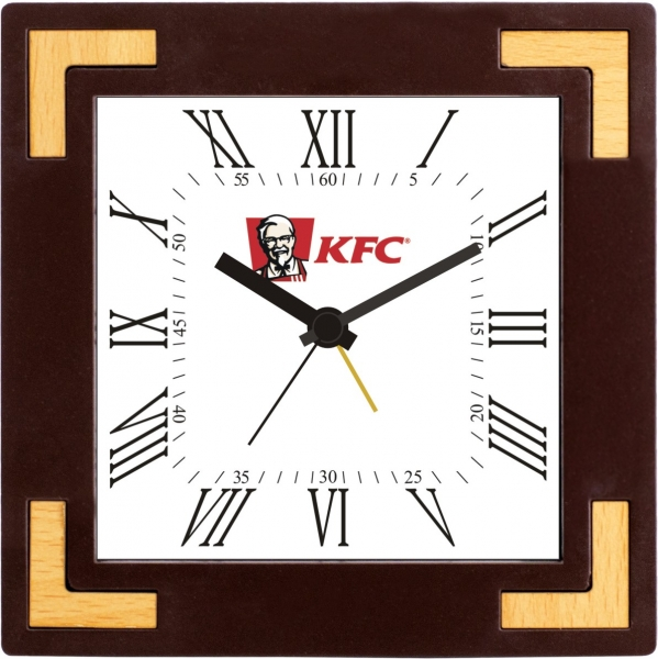 kfc custom table clock