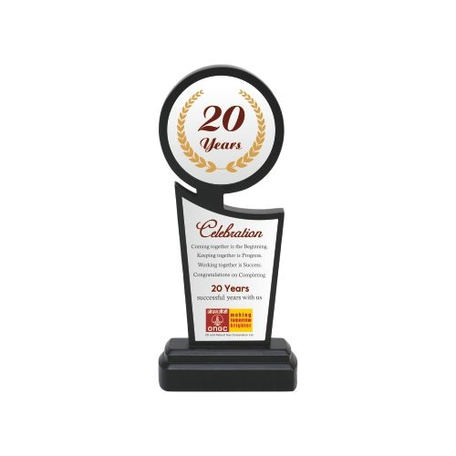 customized 3s taste of fabric trophy