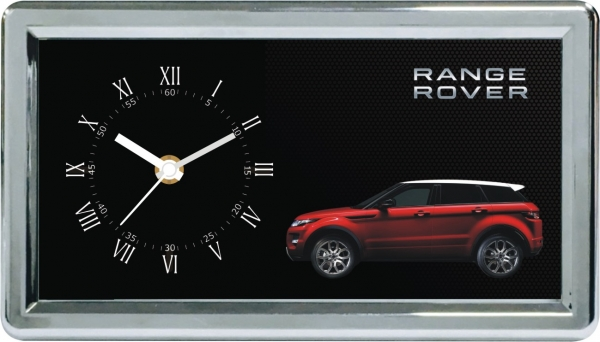 range rover custom desktop clock