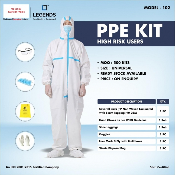 PPE kit by Taste of Fabric