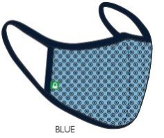 UCB Cotton face mask by Taste of Fabric