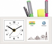 3s Volkswagen custom desktop clock